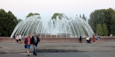 Фонтан в Приморском парке Победы