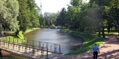 Лопухинский сад, пруд