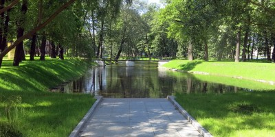 Лопухинский сад, водоем