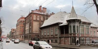 особняк Штейнмана на Большой Пушкарской улице, 14