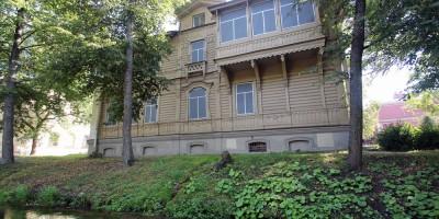 Петергоф, деревянный дом на Лихардовском канале
