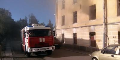 Пожар, Пушкин, Набережная улица
