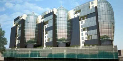 Проект бизнес-центра на проспекте Энергетиков, 8
