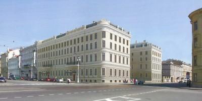 Проект реконструкции дома Мордвиновых на улице Глинки