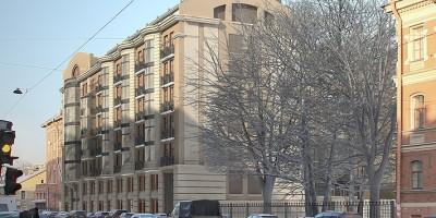 Проект жилого дома на 2-й Советской улице, 4а