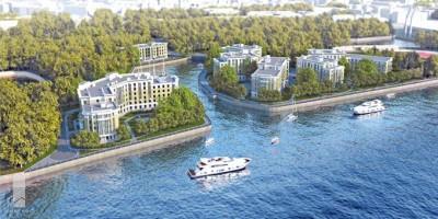 Проект жилого комплекса на Петровском острове
