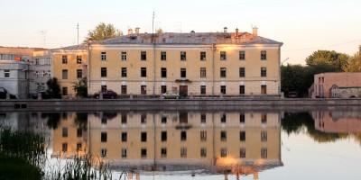 Пушкин, фабрика ассигнационных бумаг на Набережной улице, 1