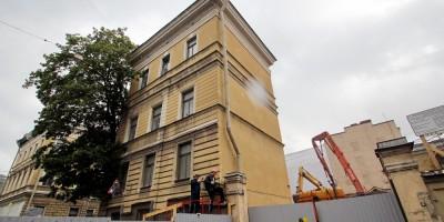 Реконструкция дома Мордвиновых на Глинки