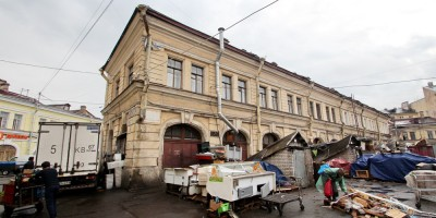 Рыбный рынок на Московском, корпус