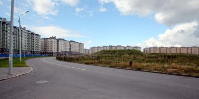 Славянка, круглая площадь