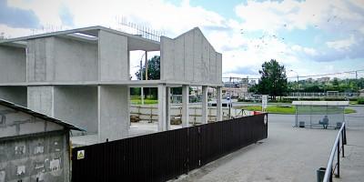 Старый Петергоф, строительство банка