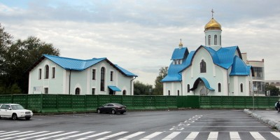 Церковь Андрея Первозванного на проспекте Энергетиков