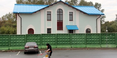 Церковь Андрея Первозванного на проспекте Энергетиков, дом причта