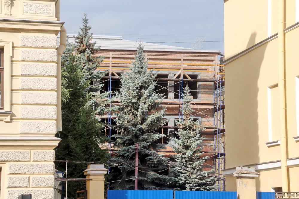 Константиновское училище на Московском, реконструкция