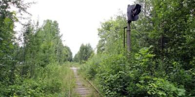 Лисий Нос, заброшенная железная дорога
