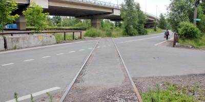 Лисий Нос, железная дорога