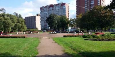 Парк Сосновка, место с тотемами