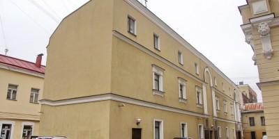 Переулок Гривцова, 4, корпус 2, фасад