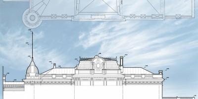 Проект воссоздания купола на доме Вадбольской