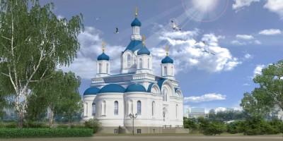 Проект воссоздания киновии Александро-Невской лавры, Свято-Троицкая церковь