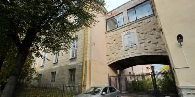 Пушкин, Военное инженерно-строительное училище
