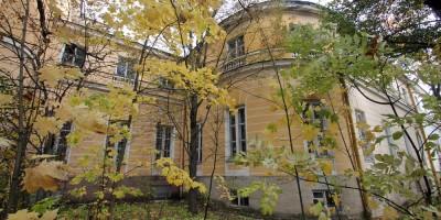 Пушкин, Военное инженерно-строительное училище, Советский переулок, 2