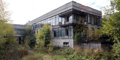 Пушкин, Военное инженерно-строительное училище, столовая