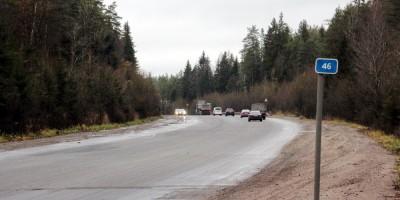 Скандинавское шоссе, 46-й километр