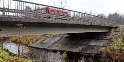 Скандинавское шоссе, мост через реку Сестру