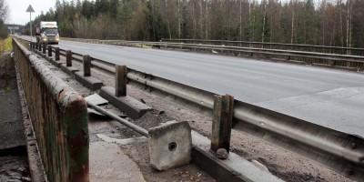 Скандинавское шоссе, мост через Сестру