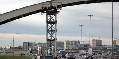 Теплотрасса над КАД, мост