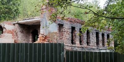Усадьба Отрада, руины