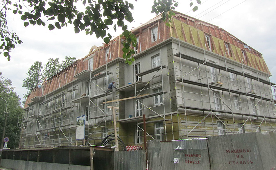 Жилой дом Ливадия на улице Васенко, 15