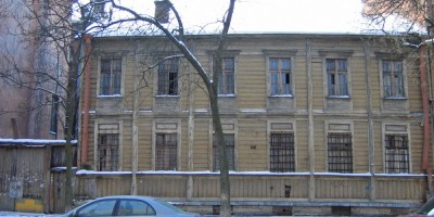 5-я линия Васильевского острова, деревянный дом