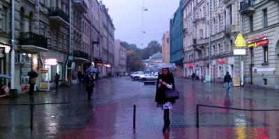 Финский переулок лишился фонарей-торшеров