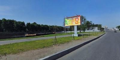 Газон на Приморском проспекте