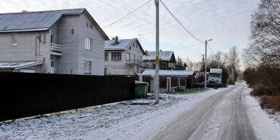 Колхозная улица в Павловске