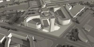 Концепция офисного центра у Ладожского вокзала