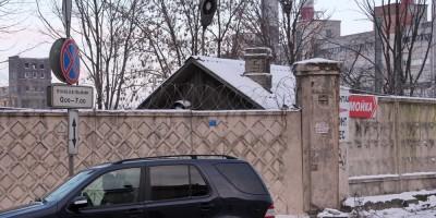Киевская улица, будка переезда
