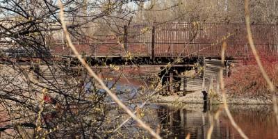Ольховка, железнодорожный мост