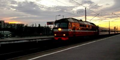 Платформа 21-й км в Пушкине