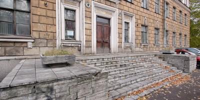 Подъездной переулок, 12, лестница