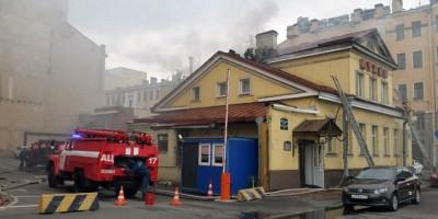 Пожар на Петроградской набережной, 24