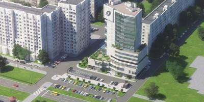 Проект центра обслуживания населения на Богатырском