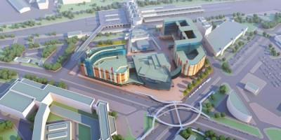 Проект общественно-делового центра у Ладожского вокзала