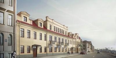 Проект реконструкции особняка Грузинского на Синопской набережной