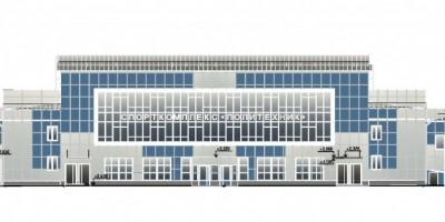 Проект реконструкции спорткомплекса на Политехнической