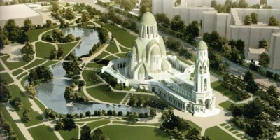 Проект собора в парке Малиновка, Иван Уралов