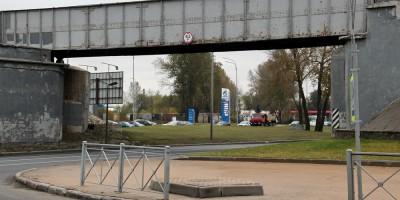 Пулковское шоссе, путепровод
