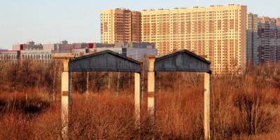 Шампиньонный завод фирмы Лето, Пулковское шоссе, теплица